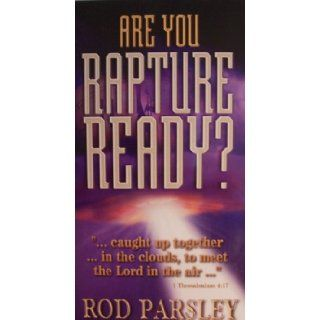 Rod Parsley, Are You Rapture Ready? [ TS131, 2 audio cassettes ] Breakthrough (A Media Ministry of World Harvest Church, Clamshell Case containing 2 Audio Cassette Tapes) Rod Parsley Books