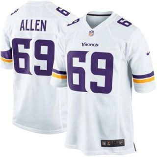 Nike Jared Allen Minnesota Vikings Limited Jersey   White