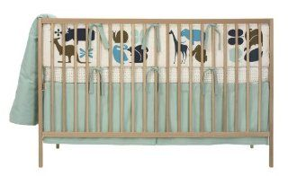 DwellStudio Baby Gio Crib Set, Aqua : Crib Bedding Sets : Baby
