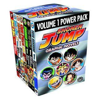 Shonen Jump Graphic Novels Power Pack, Vol. 1 (Contains Volume I of Dragon Ball, Dragon Ball Z, Naruto, One Piece, Shaman King, Yu Gi Oh!, and YuYu Hakusho): Shonen Jump, Akira Toriyama, Masashi Kishimoto, Eiichiro Oda, Hiroyuki Takei, Kazuki Takahashi: 97