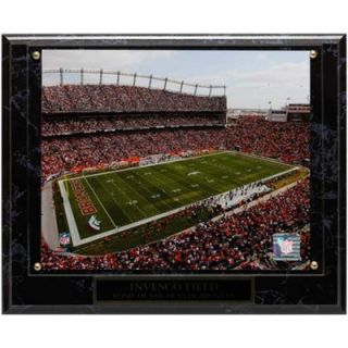 Denver Broncos 13 x 10.5 Invesco Field Stadium Plaque
