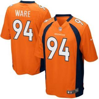 Nike DeMarcus Ware Denver Broncos Youth Game Jersey   Orange