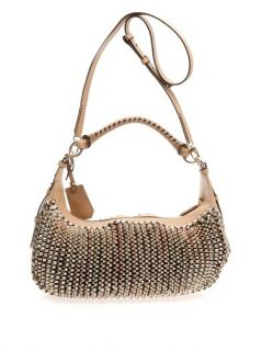 Sutra knit leather hobo bag  Diane Von Furstenberg  MATCHESF