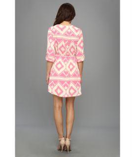 Christin Michaels Lissah Cinched Waist Dress
