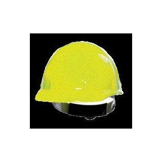 Fibre Metal Hi Viz Yellow SUPEREIGHT SWINGSTRAP Class E, G or C Type I Thermoplastic Hard Hat With 3 S Swingstrap Suspension Hardhats Industrial & Scientific
