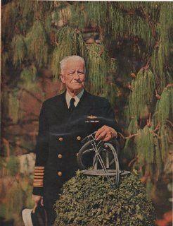 1960 Color Print Admiral Chester Nimitz