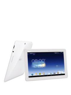 Asus MeMO Pad HD 10 Quad Core™ Processor, 1Gb RAM, 16Gb Hard Drive, Wi Fi, 10 inch Tablet   White