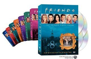 Friends   The Complete First Eight Seasons (8 Pack): Jennifer Aniston, Courteney Cox, Lisa Kudrow, Matt LeBlanc, Matthew Perry, David Schwimmer, James Michael Tyler, Elliott Gould, Christina Pickles, Maggie Wheeler, Paul Rudd, Jane Sibbett, Alan Myerson, A