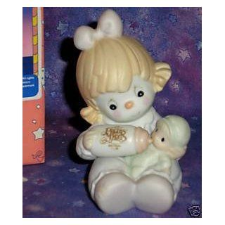 "Precious Moments ""Can't Get Enough of Our Club"" Clown Baby Figurine   Collectible Figurines"