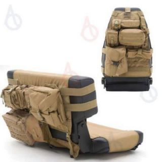 Smittybilt G.E.A.R. Jeep Front Rear Seat Cover Organizers