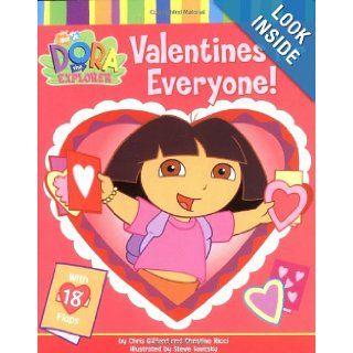 Valentines for Everyone (Nick Jr. Dora The Explorer) Chris Gifford, Christine Ricci, Steven Savitsky 0076714852365  Kids' Books