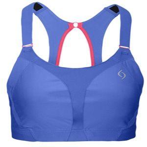 Moving Comfort Endurance Racer High Impact Sports Bra   Womens   Basketball   Clothing   Cove/Sweet Pea