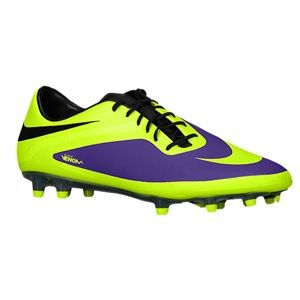 Nike Hypervenom Phatal FG   Mens   Soccer   Shoes   Electro Purple/Black/Volt