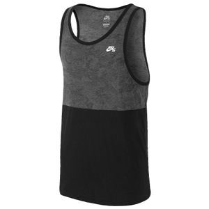 Nike SB Dri Fit Touch Camo Blocked Tank   Mens   Casual   Clothing   Black/White