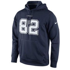 Nike Therma Fit Player KO Hoodie   Mens   Football   Clothing   Dallas Cowboys   Navy
