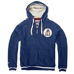 Mitchell & Ness NFL Field Goal Hoodie   Mens   Football   Clothing   New England Patriots   Navy