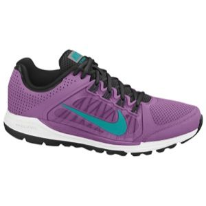 Nike Zoom Elite + 6   Womens   Running   Shoes   Violet Shade/Black/White/Turbo Green