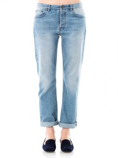 Ashland high rise straight leg jeans  The Row  IO