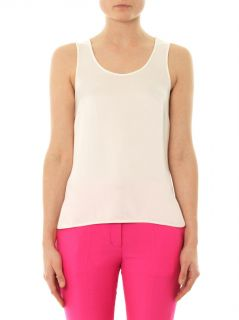 Bea silk tank top  Freda