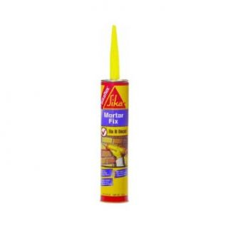 Sika Corporation 187784 Sikaflex Polyurethane 1 Component Mortar Fix Elastomeric Sealant, 10 oz Capacity, Gray: Thread Sealants: Industrial & Scientific