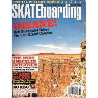 Nine Frames Per Second Mark Appleyard, Kenny Hoyle, & Gino Lannucci / Adelmo Jr. Roll Call / Bob Burnquist VS. The Grand Canyon / Ryan Sheckler 20 Questions / Krux Gets Made in China / L R G's Continental Spliff'd (Transworld Skateboarding Mag