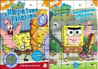 SpongeBob SquarePants: Home Sweet Pineapple/Spongebob Goes Prehistoric: Tom Kenny, Rodger Bumpass, Bill Fagerbakke, Clancy Brown, Dee Bradley Baker, Mr. Lawrence, Sirena Irwin, Carolyn Lawrence, Jill Talley, Mary Jo Catlett, Lori Alan, Mark Fite, Stephen H