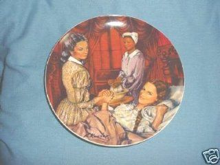 Gone With The Wind Melanie Gives Birth Collector Plate  Commemorative Plates