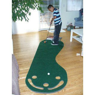 Grassroots Par Three Putting Green (3x9 Feet) : Golf Putting Mats : Sports & Outdoors