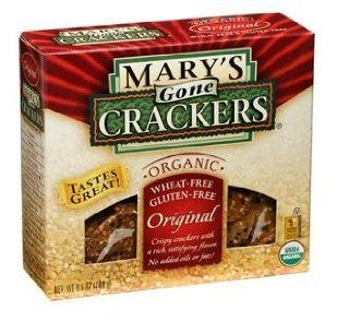 Mary's Gone Crackers Organic Original Seed Cracker 6.5 OZ Box : Packaged Rice Crackers : Grocery & Gourmet Food