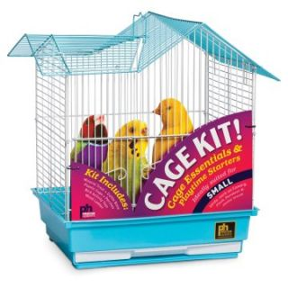 Prevue Pet Products Double Roof Parakeet Cage Kit 91110   Bird Cages