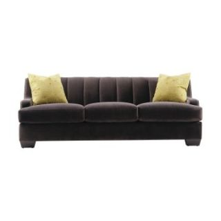 Lazar Dolce Prosuede Gray Fabric Sofa   Sofas