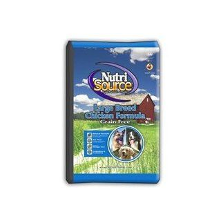 Nutrisource Grain Free Large Breed Chicken Dry Dog Food 30lb : Pet Food : Pet Supplies
