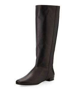 orlena knee high flat boot, black   Kate Spade   Black (36.5B/6.5B)