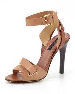 Flynn Ankle Strap Sandal   Derek Lam   Sugar (nude) (38.5B/8.5B)