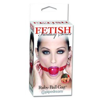 Fetish Fantasy Ruby Ball Gag (Package Of 4) Health & Personal Care