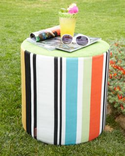 Olivan Stripe Pouf   Missoni Home Collection