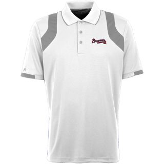 Antigua Atlanta Braves Mens Fusion Short Sleeve Polo   Size: Medium,