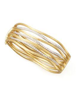 Jaipur Diamond Link Diamond Cuff, Large   Marco Bicego   (LARGE )