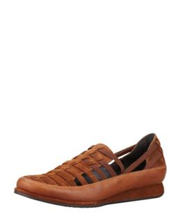 Move In Strappy Elastic Sneaker, Tobacco/Twig   Stuart Weitzman   Tabacco/Twig