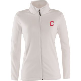 Antigua Cleveland Indians Womens Ice Jacket   Size: Large, White (ANT INDN W