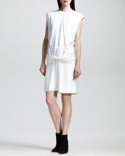 Womens Twist Front Muscle Tee Dress   Alexander Wang   Down (10)