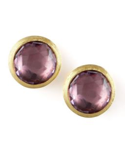 Jaipur Amethyst Stud Earrings   Marco Bicego   Amethyst