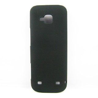 New Design Black Mesh NET Hard Rubber Case Cover Skin For Nokia C5 00 Case: Cell Phones & Accessories