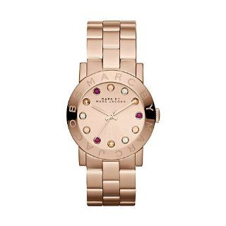 Marc by Marc Jacobs Amy Dexter Rose Dial Rose Gold tone Ladies Watch MBM3219 Marc Jacobs Watches