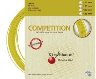 KIRSCHBAUM Competition 1.25mm Tennis String (12m) : Tennis Racket String : Sports & Outdoors