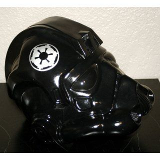 Rubie's Costume Men's Star Wars Collectors Edition Fighter Helmet, Black, One Size Clothing