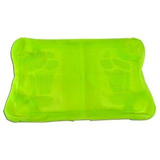 Wii Fit Protective Skin with Foot Massaging Bubbles   Keeps Your Feet Relaxed as You Play Your Wii Fit! (Green): Video Games