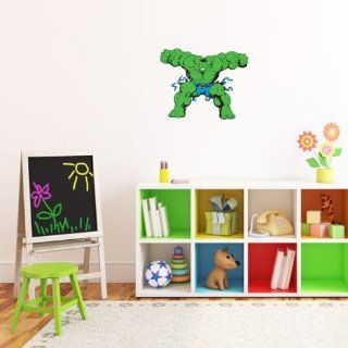 """Incredible Hulk Wall Graphic Decal Sticker 25"""" x 20""""   Wall Decor Stickers"""