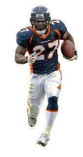 Denver Broncos Knowshon Moreno Fathead Wall Graphic : Sports Fan Wall Banners : Sports & Outdoors