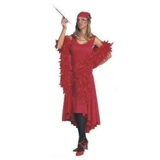 Purple, Women Med 8 10   Roaring 20s Authentic Looking Sophisticated Flapper Costume Dress: Adult Sized Costumes: Clothing